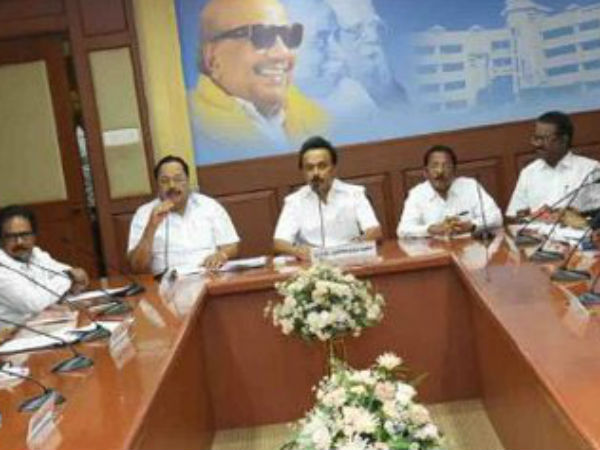 DMK condemns Centre for not constituting Cauvery Management board