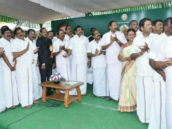 Erode Public Shocked By The Ministers Speech In Govt Function