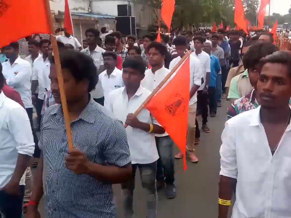 hindu munnani party condemnation of the great tribal riots in kovai