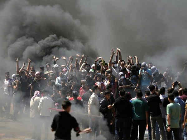 Isreal army kills 28 Palestinians amidst New embassy inauguration of America