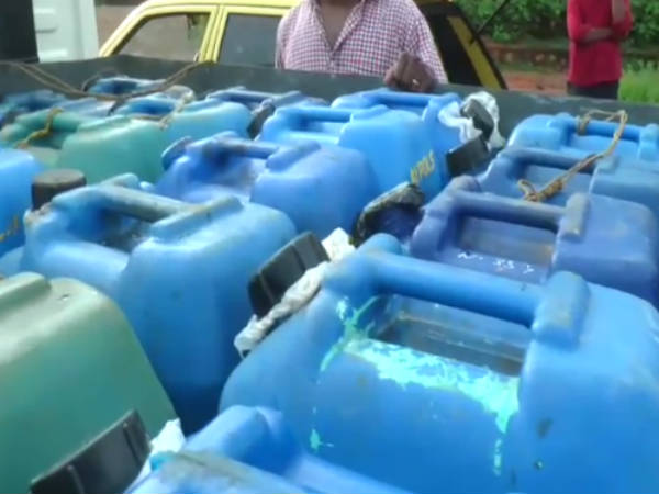 1000 litre of kerosene confiscated in Kanyakumari