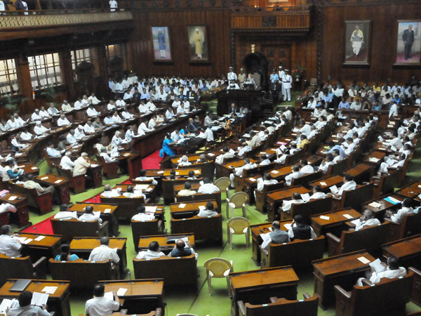 The Karnataka Legislative Assembly meets at 11am tomorrow: Governor