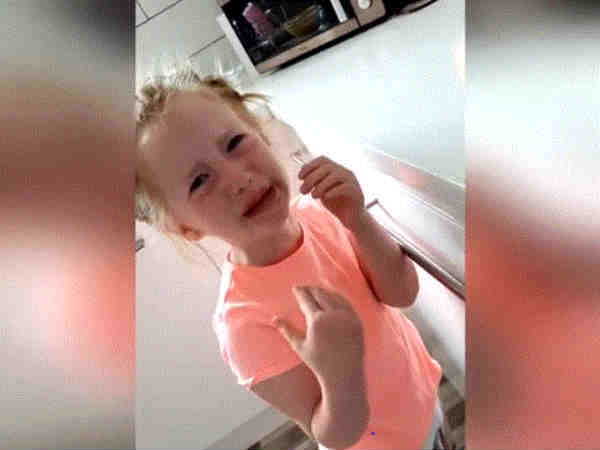 Girl Bursts Into Tears Video