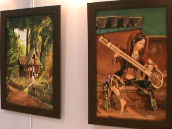 Art exhibition in Ooty