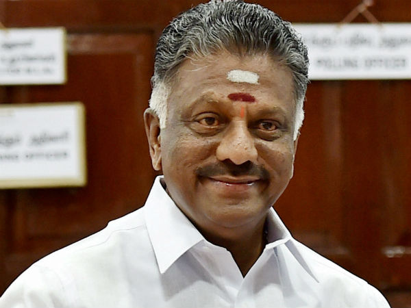 TN Deputy CM OPS Wishes Modi and Amit Shah on Karnataka poll results