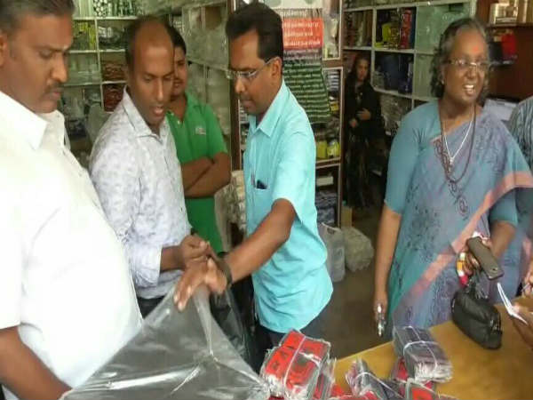 plastics raid and seized in erode