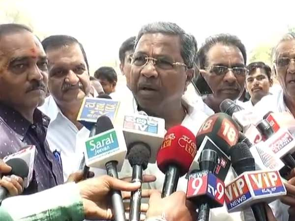 Alliance with JDS is Congress heads decision says, Siddaramaiah
