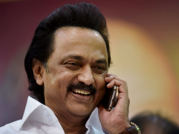 A controversy erupts over Stalin Wishes to BJP