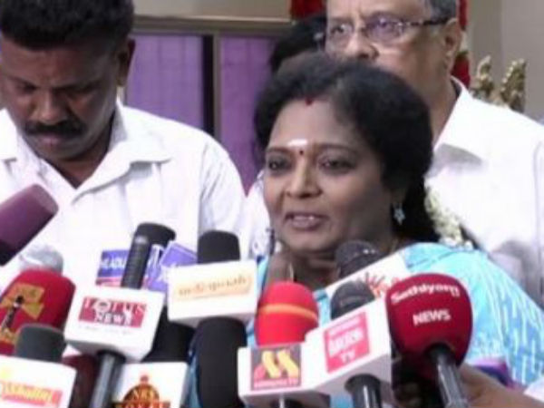 Tamilisai happy for the supreme court judgement in the Cauvery case