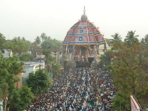 Chariot Festival today in Trichy Srirangam
