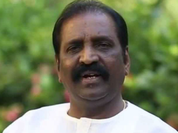 Vairamuthu condemns case filed on Bharathiraja