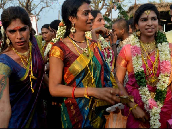 Transgender married and enjoyed in Koovagam