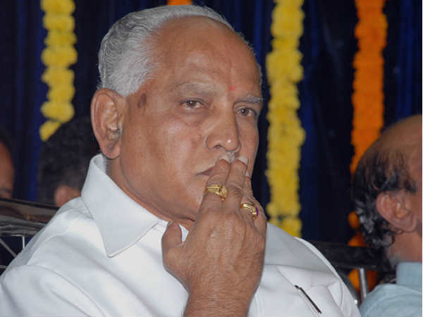 Yeddyurappa should not take any action as a CM until he proves his majority says, SC