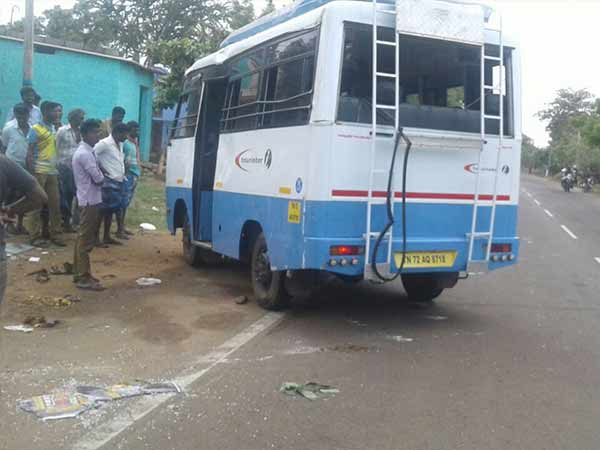 1 year Old child killed in Accident near Courtallam
