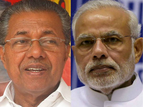 PM Modi refuses appointment to Kerala CM Vijayan for 4th time