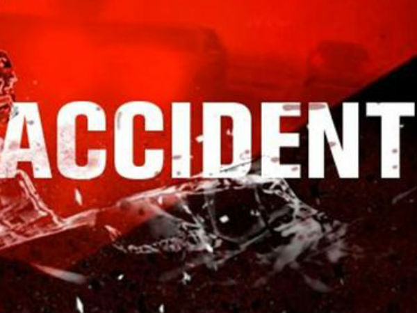 Government bus hit on Two wheeler; a couple died