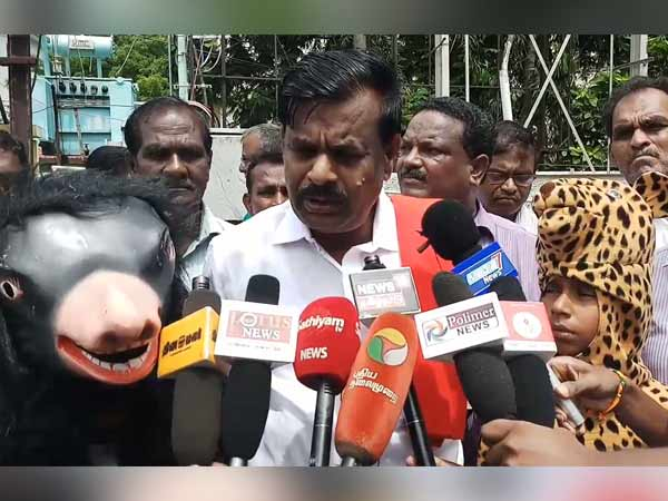 farmers petition to the coimbatore collector