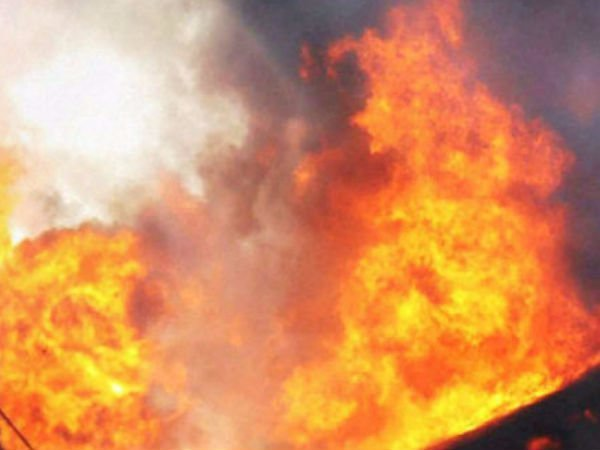 Private Incense stick Preparation Plant Fire near Ranipet