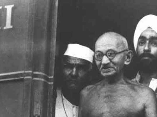 Gandhi thrown off train in South Africa on June 7, 1893