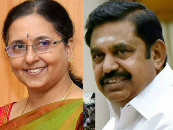 18 MLA Disqualification Verdict: TN CM hold a meeting with Cheif Secretary Girija Vaidyanathan
