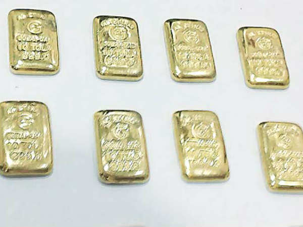 Gold worth 1 KG seized at Trichy airport