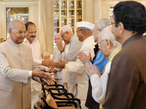 President hosts All Governors Meeting at Delhi