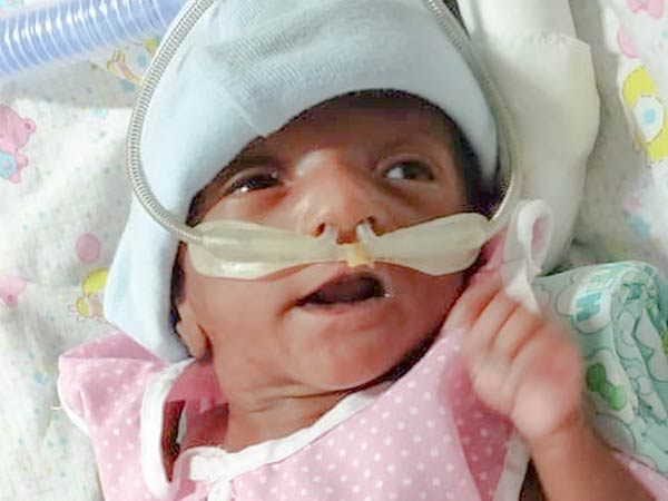 Help this Child, Who gets admitted seriously in Hospital