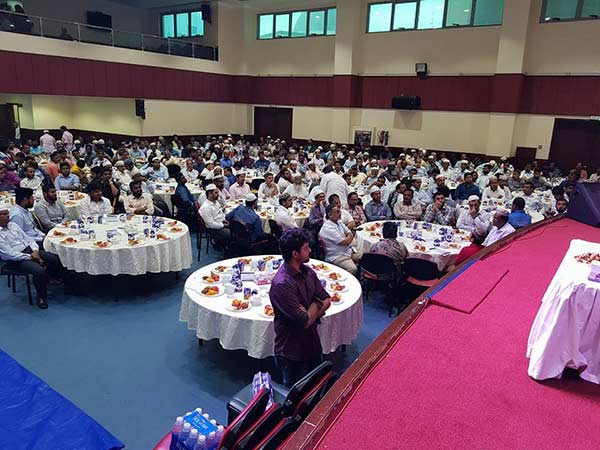 Iftar celebration held in Abu Dhabi
