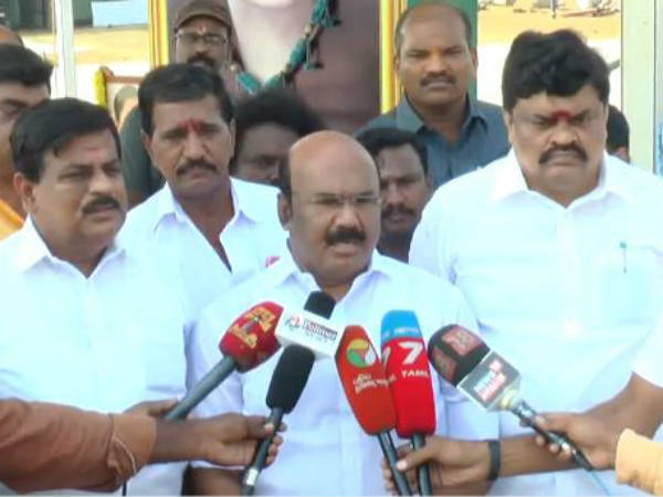 DMK doesnot have any rights to blame us says Jayakumar