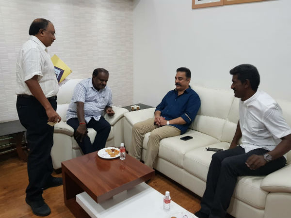 Kamal Haasan to meet Karnataka CM Kumarasamy on Cauvery issue