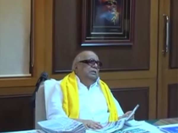 Oneday life of Karunanidhi- Video