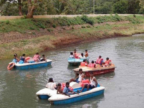 Boat ride begins in courtallam