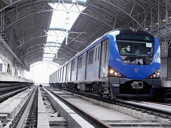 Chennai metro department has started working the making of 3 Phase of Lane