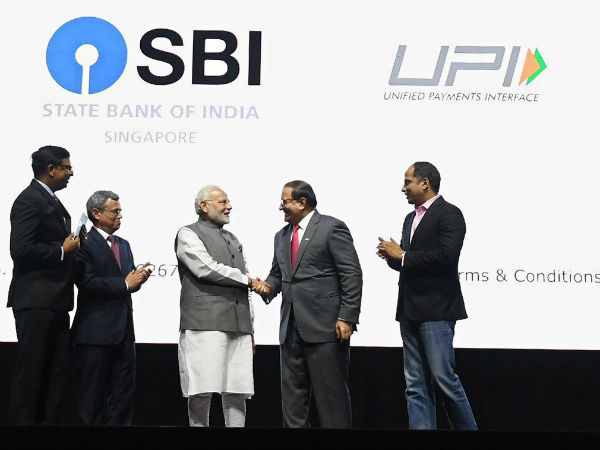 Modi in Singapore: Launches three Indian mobile payment apps at a business event