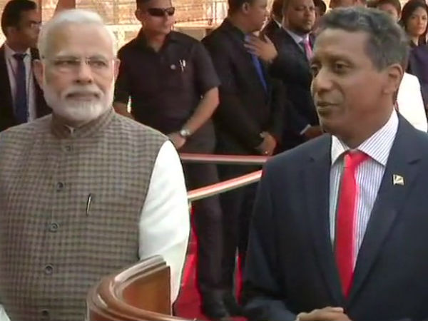 PM Modi holds talks with Seychelles president Danny Faure