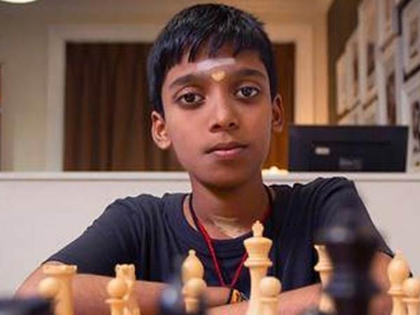 R. Praggnanandhaa becomes 2nd youngest grand master