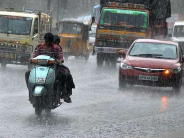 Tamilnadu and Puducherry will get thunder rain in next 24 hours: Chennai Meteorological center