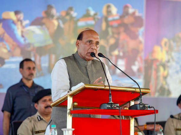 Union Minister Rajnath sing say Modi's Kashmir policy is correct