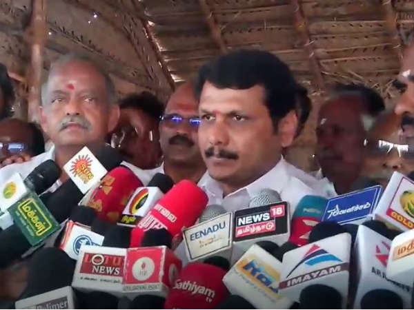 Senthil Balajis criticism of the Tamil Nadu government