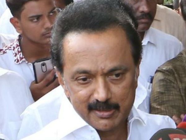MK Stalin going to review in South zone