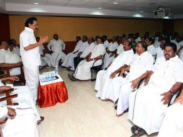 We need to fight back to eliminate ADMK and BJP says Stalin