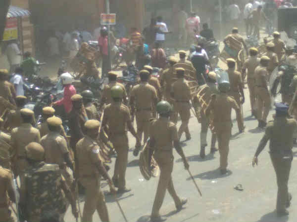 72 Policemen attacked in Thoothukudi Protest DGP on Report