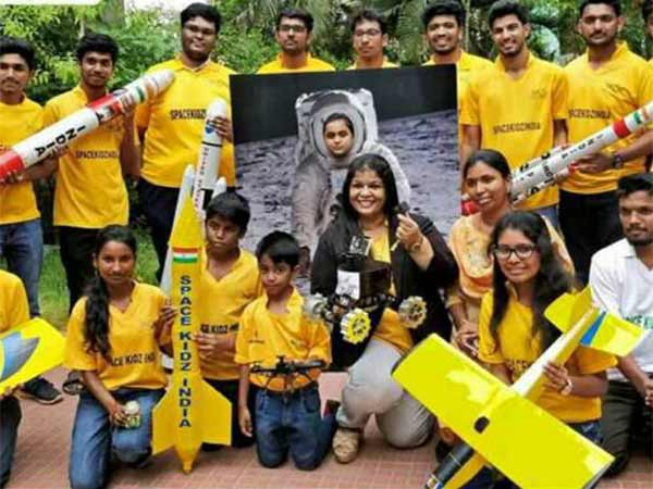 Students from Tamil Nadu trying to send a small rover to the moon