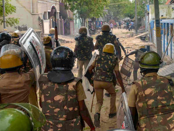 Tuticorin Shooting: Both Taluk Officers transferred after FIR