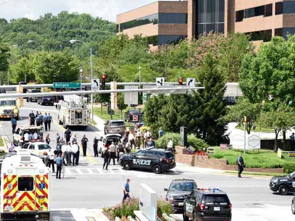 US: 5 killed in multiple shooting at The Capital newspaper in Marylands Annapolis