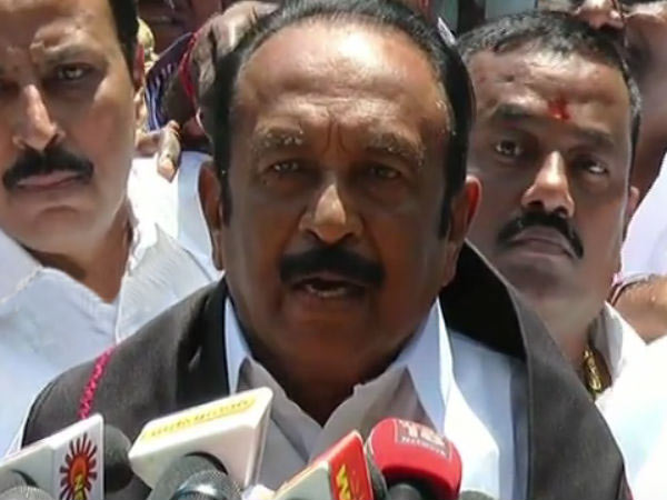 Draft CRZ plan need to withdrawn says Vaiko