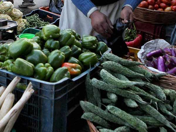 Vegetable prices rise