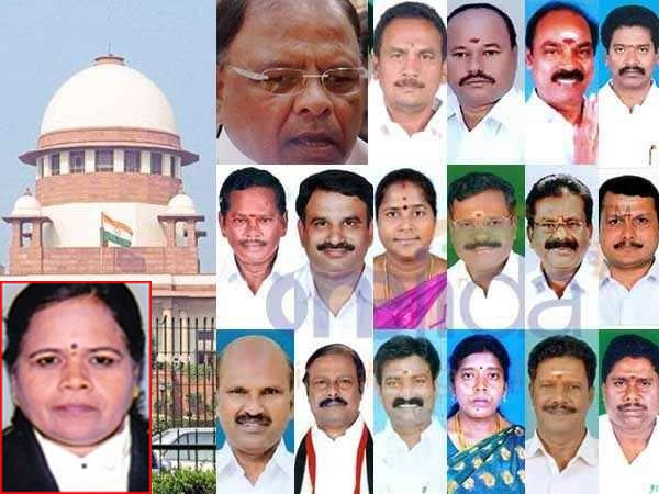 SC to hear Dinakaran supporting MLAs plea against Disqualification on today