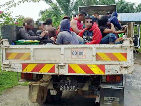 40 illegal immigrants arrested