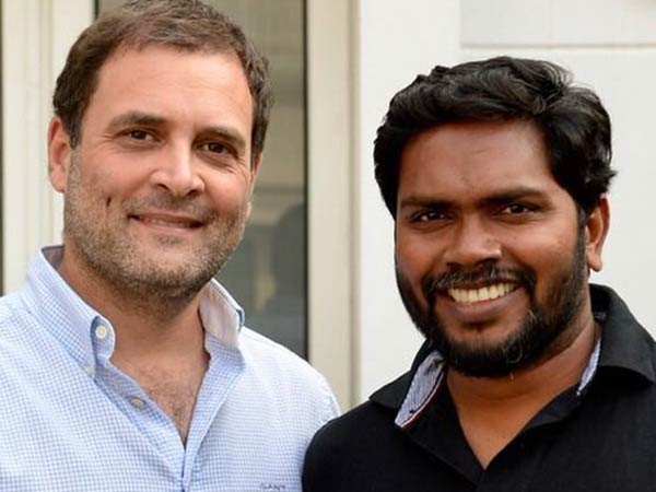 Director P.Ranjith tweets about his meeting with Rahul Gandhi